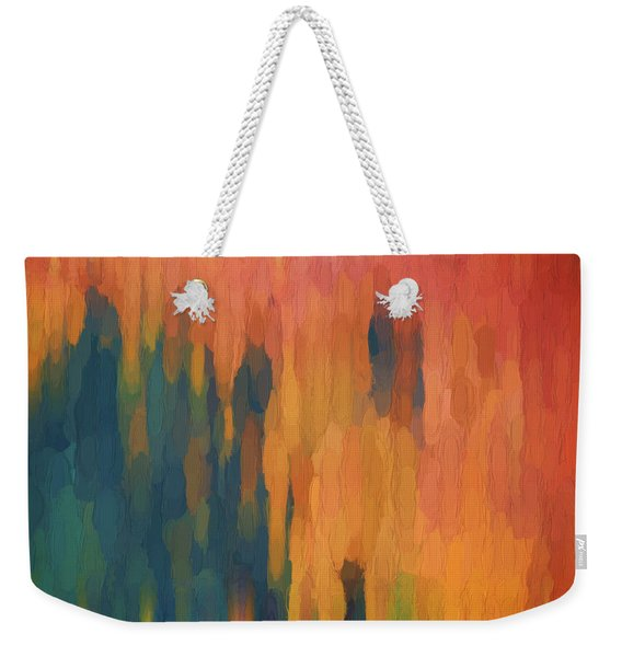 Color Abstraction Xlix Weekender Tote Bag