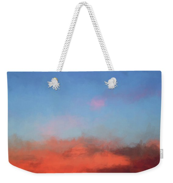 Color Abstraction Xlvii - Sunset Weekender Tote Bag