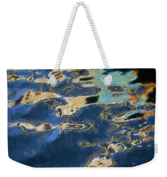 Color Abstraction Xxxvii - Painterly Weekender Tote Bag