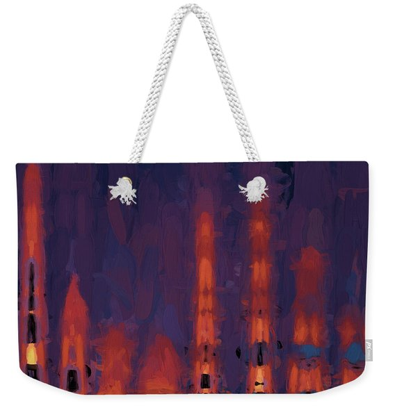 Color Abstraction Xxxviii Weekender Tote Bag