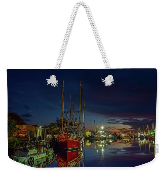 Color And Reflection In The Bayou Weekender Tote Bag