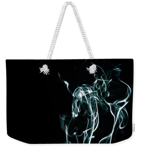 Color And Smoke Iv Weekender Tote Bag