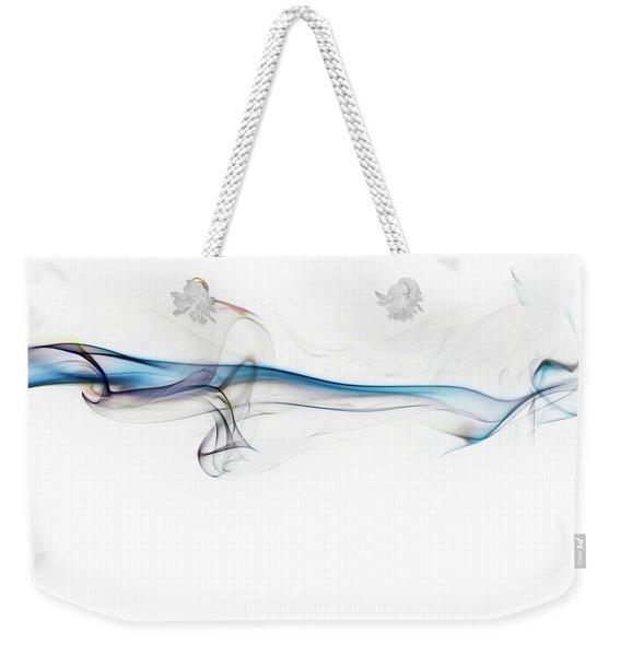 Color And Smoke V Weekender Tote Bag