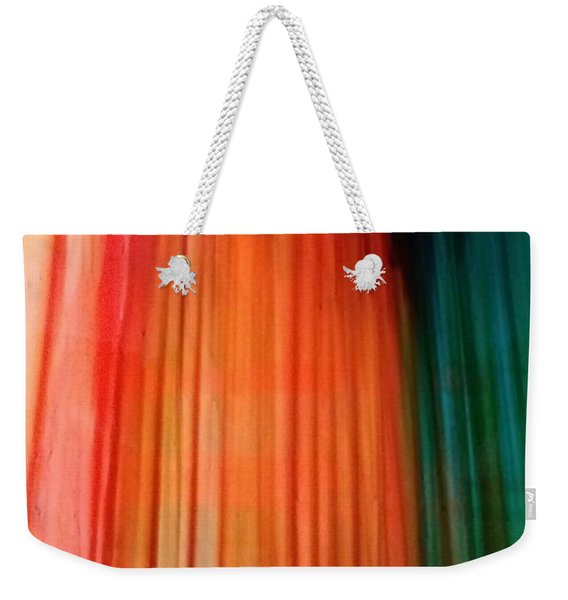 Color Bands Weekender Tote Bag
