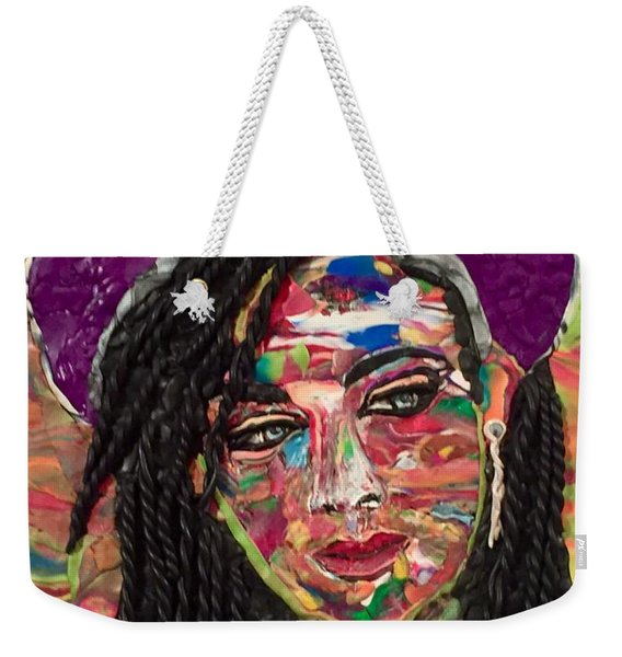 Color Chameleon Weekender Tote Bag