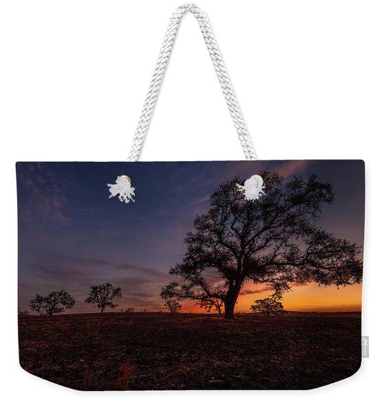 Color Change At First Light Weekender Tote Bag