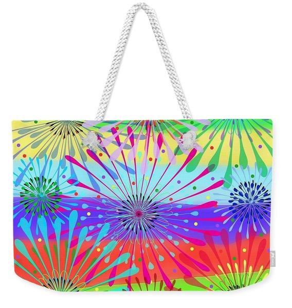 Color Cornucopia Weekender Tote Bag