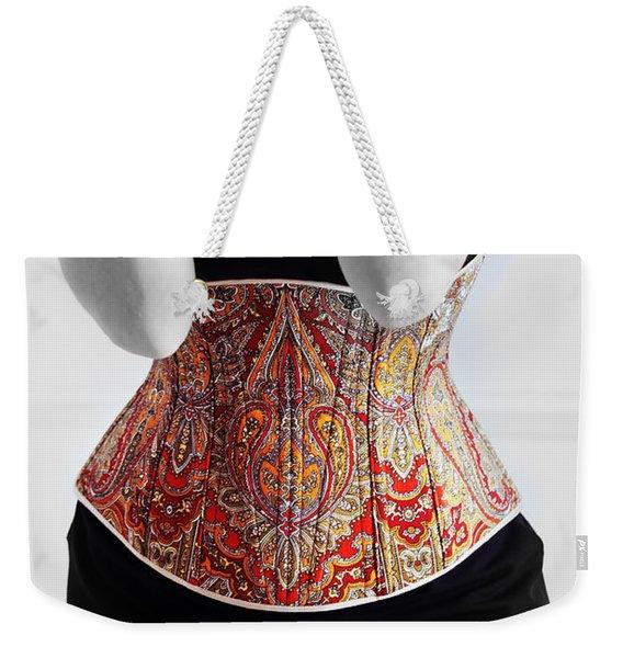 Color Corset Weekender Tote Bag