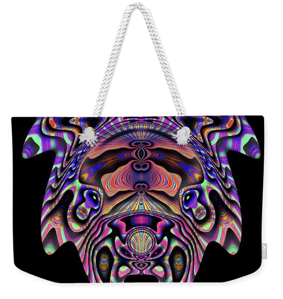 Color Cow Weekender Tote Bag