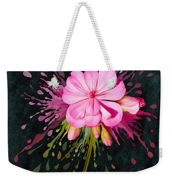 Color Eruption  Weekender Tote Bag