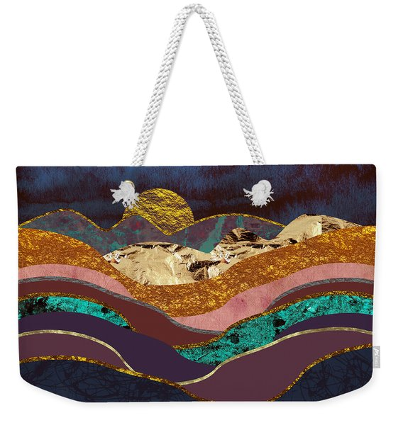 Color Fields Weekender Tote Bag