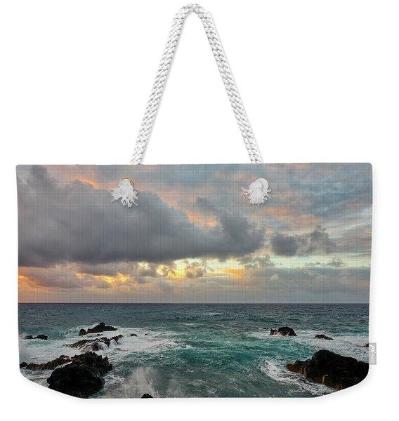 Color In Maui Weekender Tote Bag