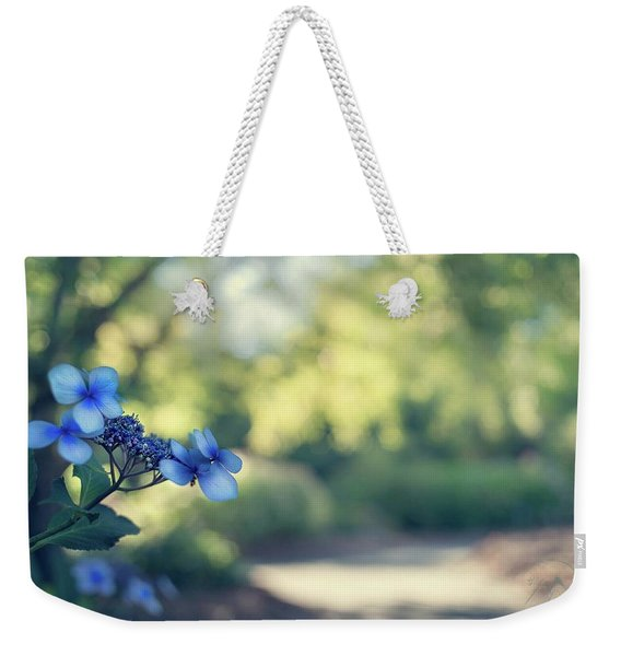 Color Me Blue Weekender Tote Bag