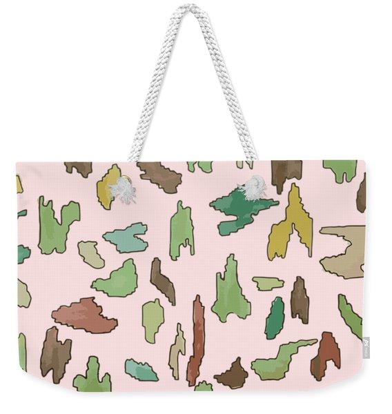 Color Pattern 3 Weekender Tote Bag