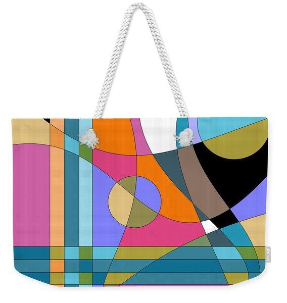 Color Play Weekender Tote Bag