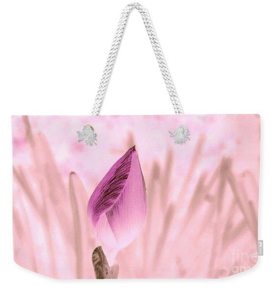 Color Trend Flower Bud Weekender Tote Bag