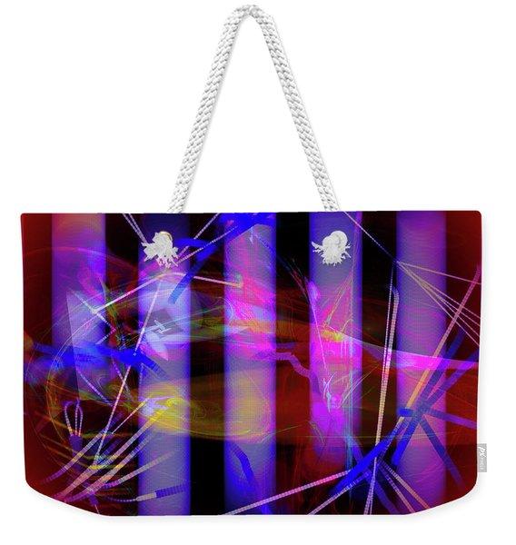 Color Tubes Weekender Tote Bag