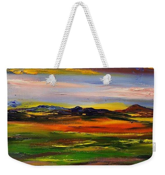Color Your World    #58 Weekender Tote Bag