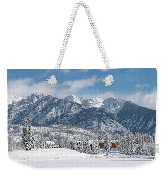 Colorad Winter Wonderland Weekender Tote Bag