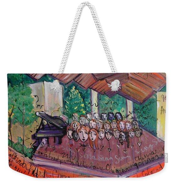 Colorado Childrens Chorale Weekender Tote Bag