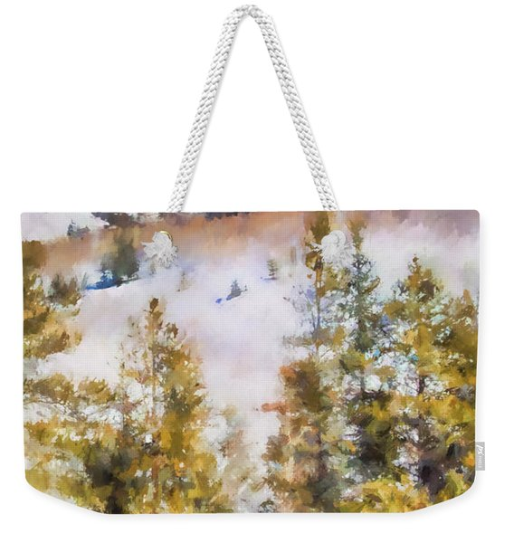 Colorado Color Splash 1 Landscape Art By Jai Johnson Weekender Tote Bag