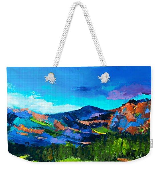 Colorado Hills Weekender Tote Bag