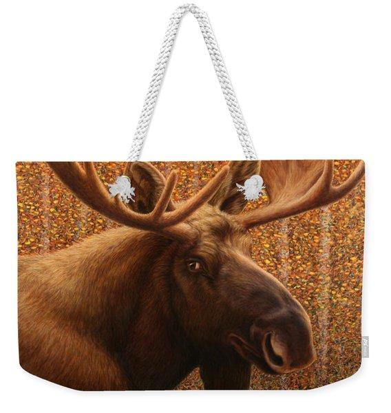 Colorado Moose Weekender Tote Bag