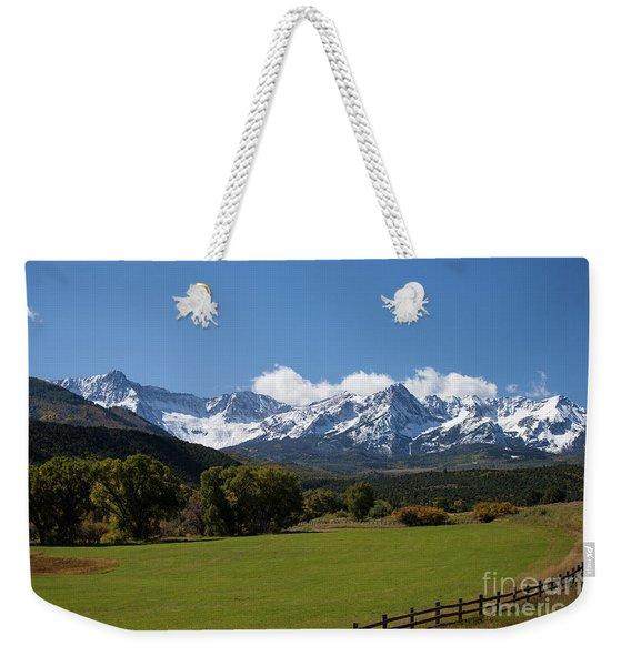 Colorado Ranch Weekender Tote Bag