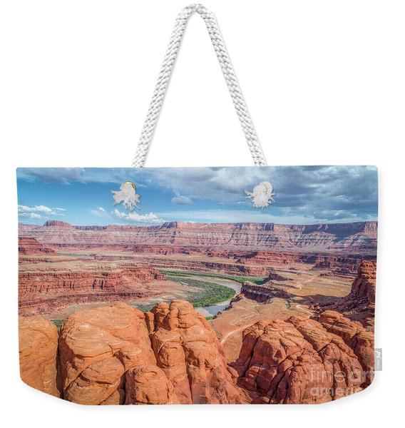 Colorado River And Chicken Corner Trail  Weekender Tote Bag