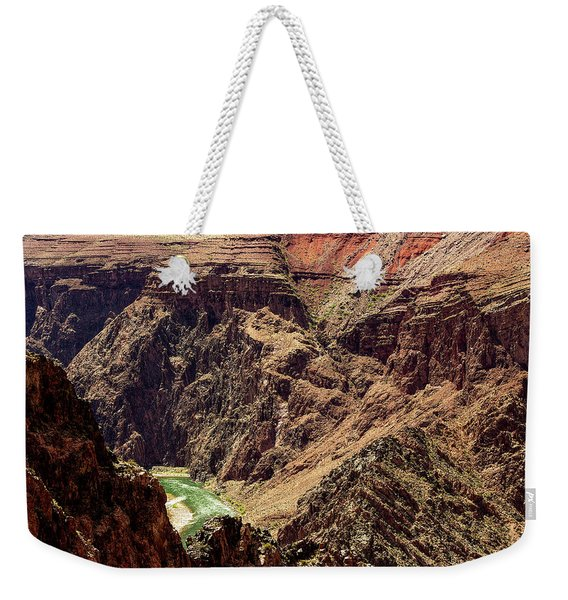 Colorado River From The South Kaibab Trail Weekender Tote Bag