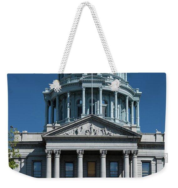 Colorado State Capitol Weekender Tote Bag
