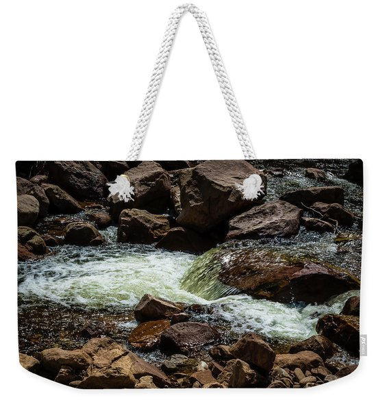 Colorado Water Weekender Tote Bag