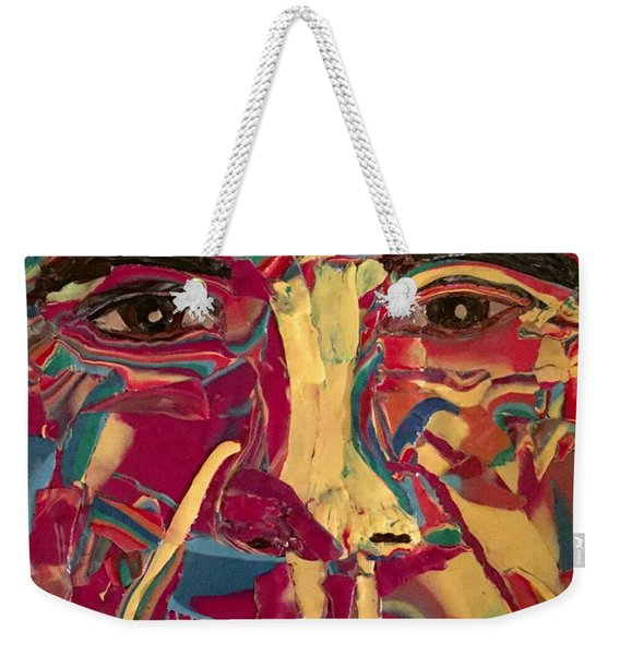 Colored Man Weekender Tote Bag