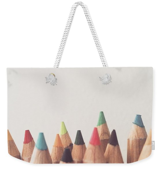 Colored Pencils Weekender Tote Bag