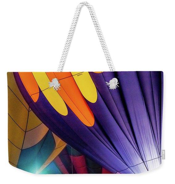 Colorful Abstract Hot Air Balloons Weekender Tote Bag