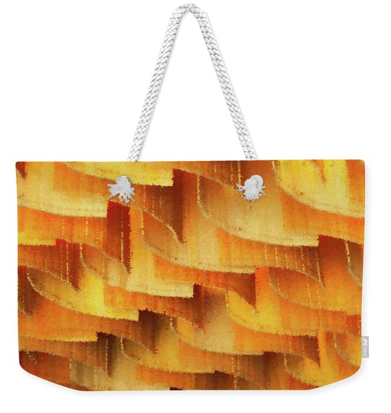 Colorful Bamboo Ceiling- China Weekender Tote Bag