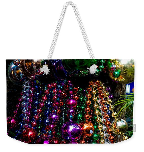 Colorful Baubles Weekender Tote Bag