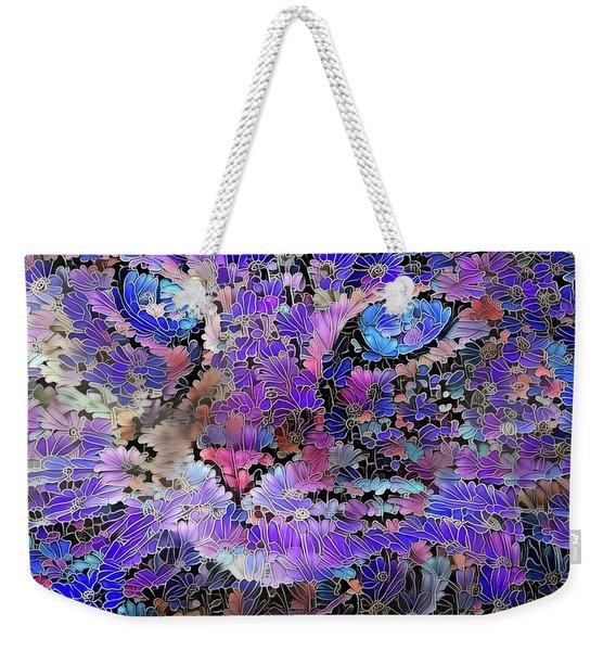 Flower Cat 2 Weekender Tote Bag