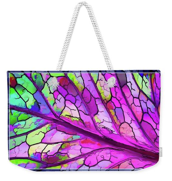Colorful Coleus Abstract 3 Weekender Tote Bag