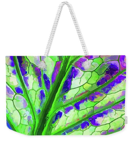 Colorful Coleus Abstract 4 Weekender Tote Bag
