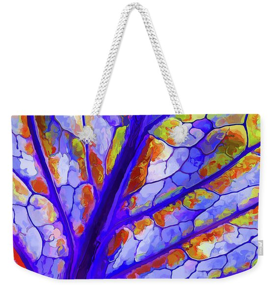 Colorful Coleus Abstract 6 Weekender Tote Bag