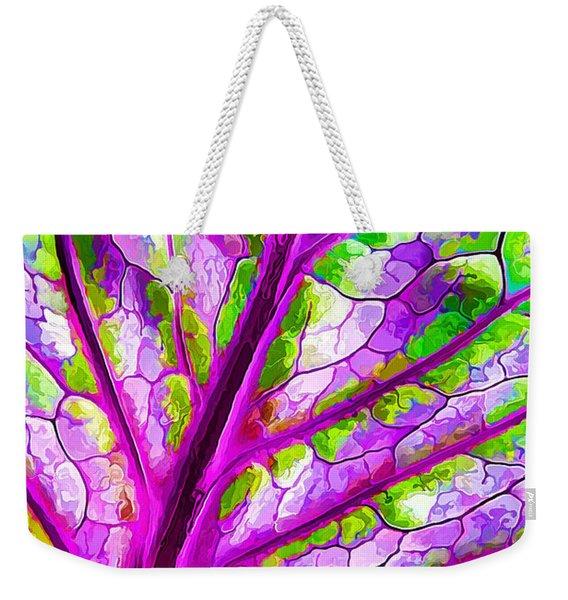 Colorful Coleus Abstract 1 Weekender Tote Bag