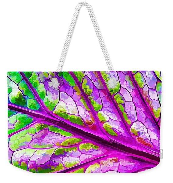 Colorful Coleus Abstract 2 Weekender Tote Bag