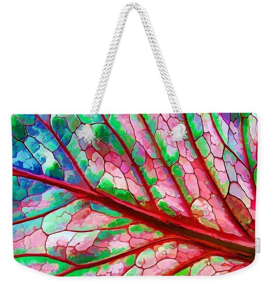 Colorful Coleus Abstract 5 Weekender Tote Bag