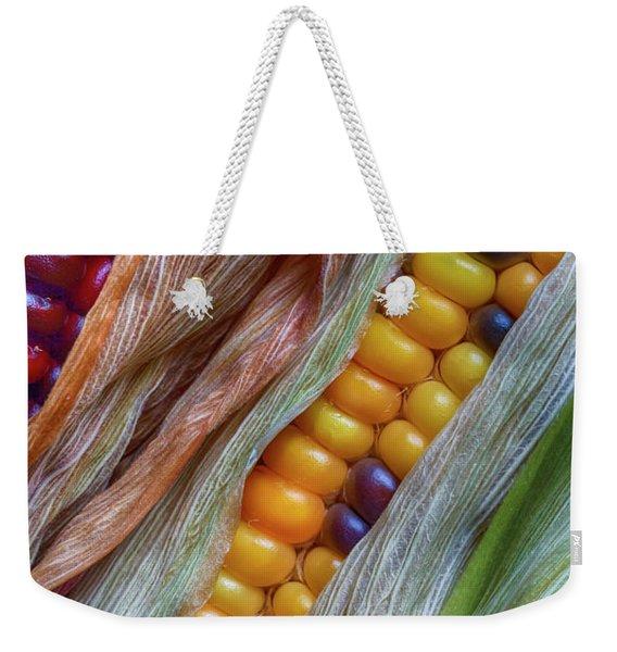 Colorful Corn 2 Weekender Tote Bag