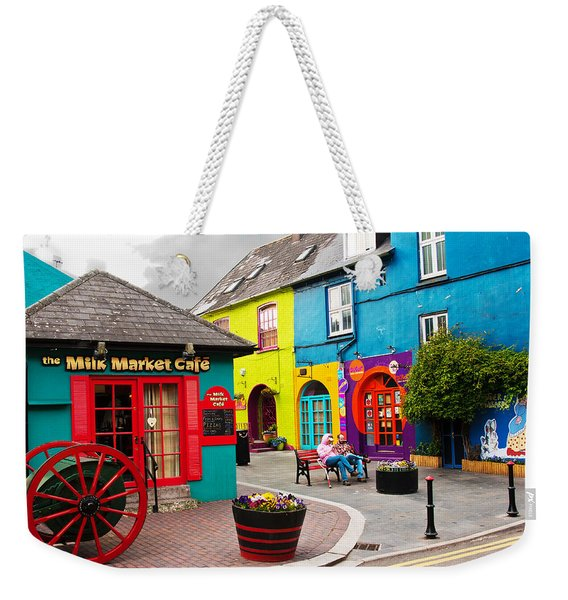 Colorful Corner Weekender Tote Bag