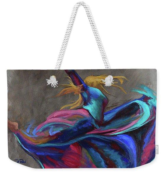 Colorful Dancer Weekender Tote Bag