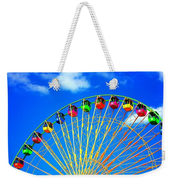 Colorful Ferris Wheel Weekender Tote Bag