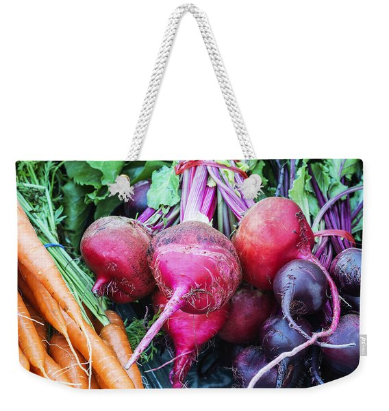 Colorful Fresh Vegetables Weekender Tote Bag