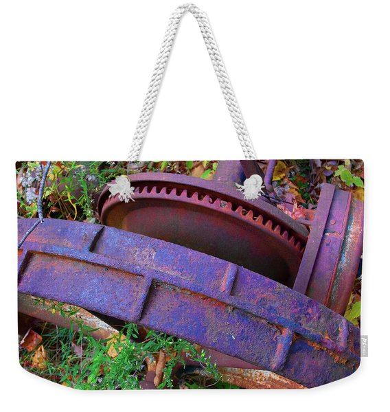 Colorful Gear Weekender Tote Bag
